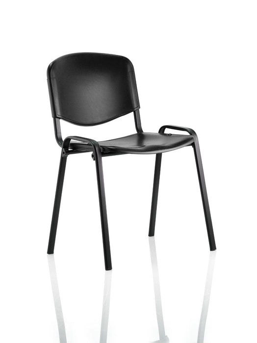 ISO Stacking Chair Poly Without Arms