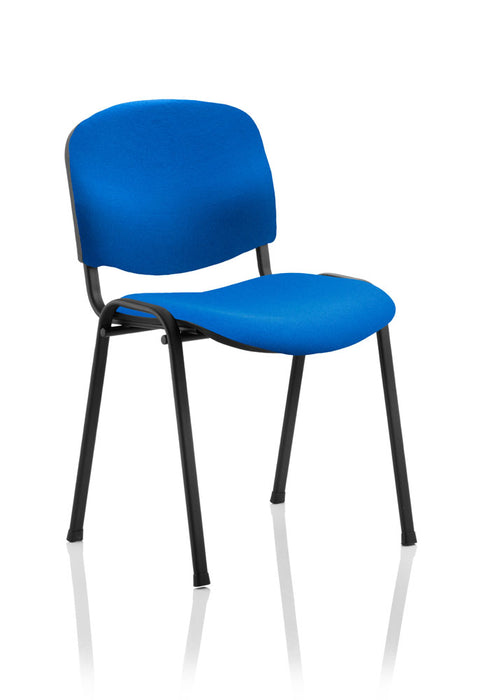 ISO Stacking Chair Fabric Without Arms