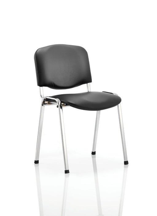 ISO Stacking Chair Vinyl Without Arms