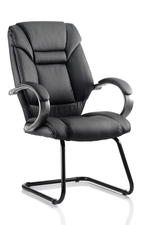 Galloway Cantilever Chair Leather With Arms