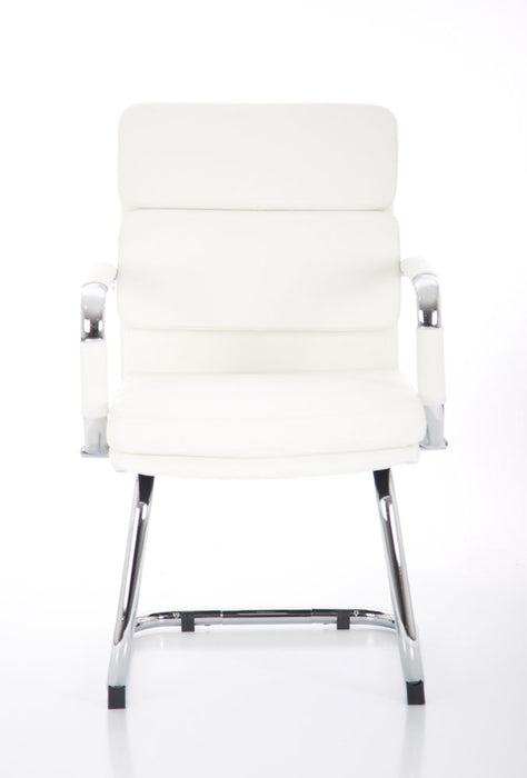 Advocate Visitor Chair Bonded Leather With Arms