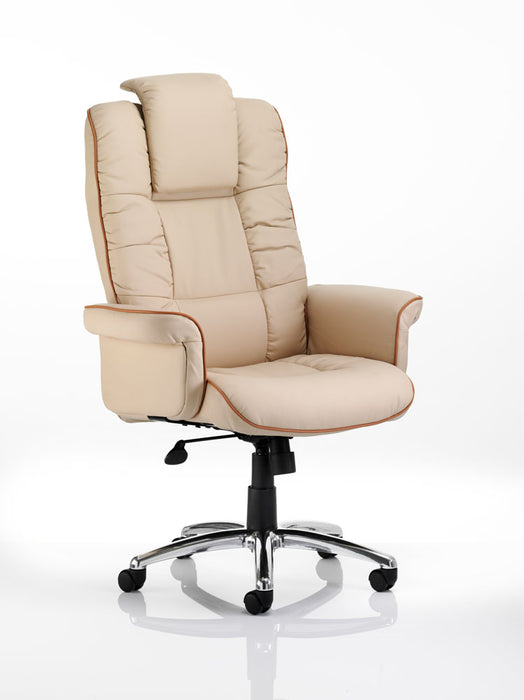 Chelsea Executive Chair Bonded Leather With Arms