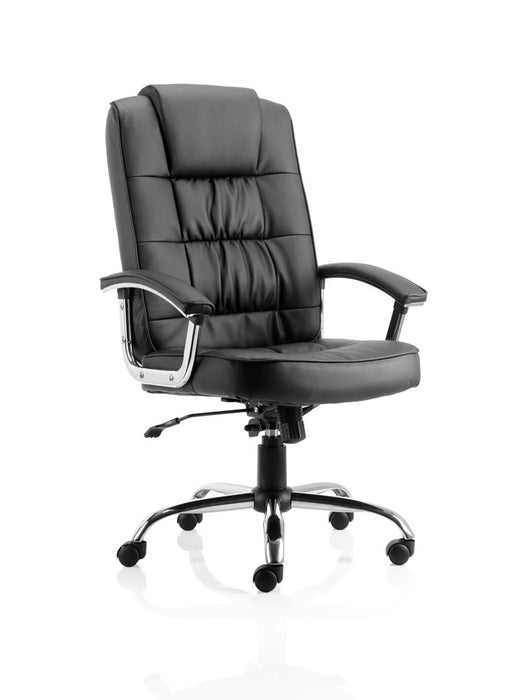 Moore Deluxe Executive Chair Leather With Arms