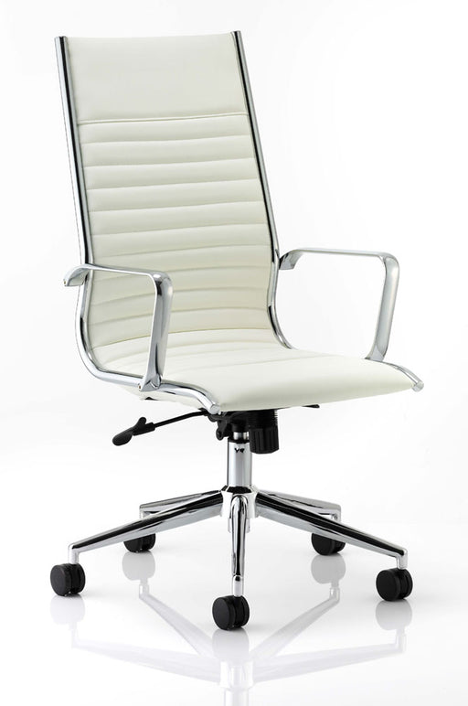 Ritz Executive High Back Chair Bonded Leather With Arms