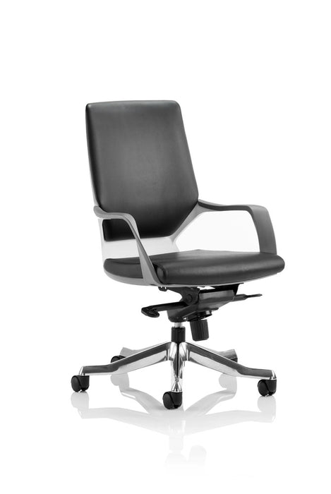 Xenon Executive Medium Back Leather With Arms