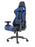 Ascari Racing Blue and Black Bonded Leather Chair