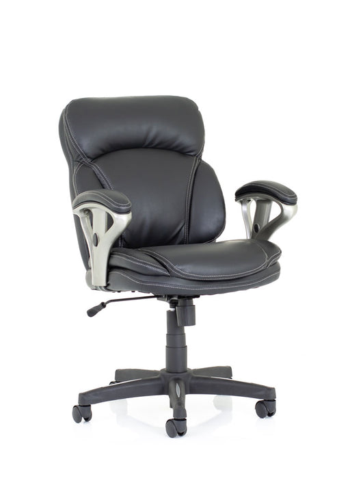 Photon Black Bonded Leather Executive Chair