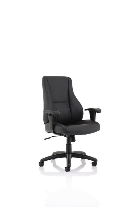 Winsor Black Leather Chair