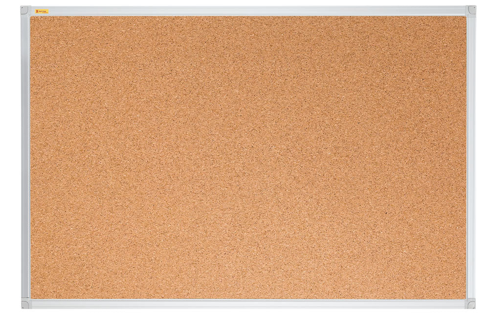 Cork Pin Board X-tra!Line 150x120 cm