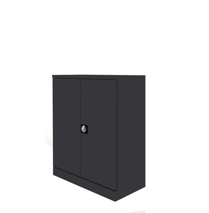 Executive Graviti Plus Contract Stationery 1000mm 2-Door Cupboard No Shelves