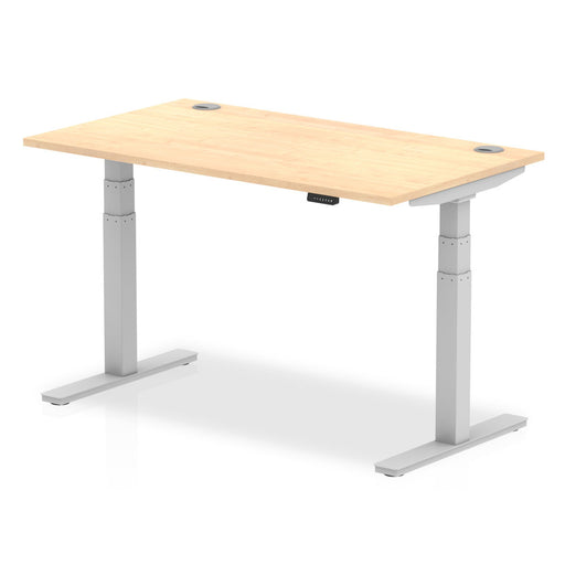 Air 1400/800 Height Adjustable Desk With Cable Ports