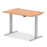 Air 1200/800 Height Adjustable Desk With Cable Ports