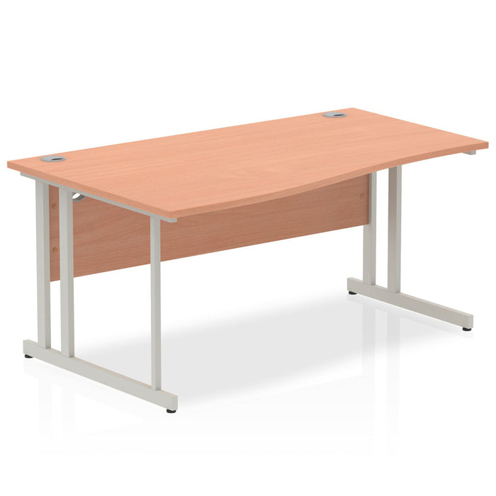 Impulse Cantilever 1600 Left Hand Wave Desk