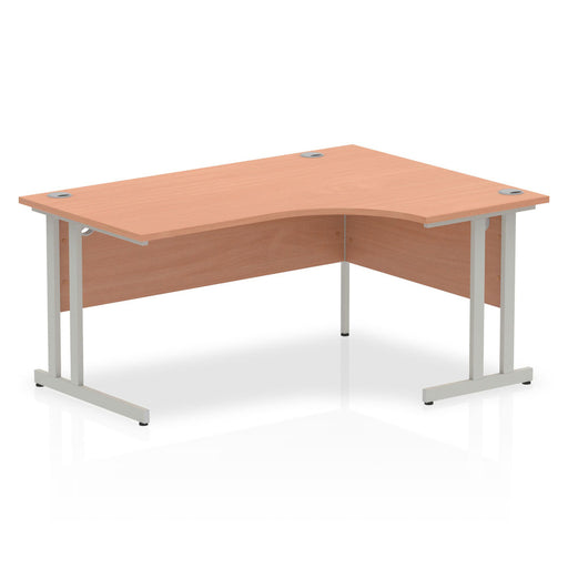 Impulse Cantilever 1600 Right Hand Crescent Desk