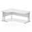 Executive Impulse Cantilever 1800 Left Hand Crescent Desk