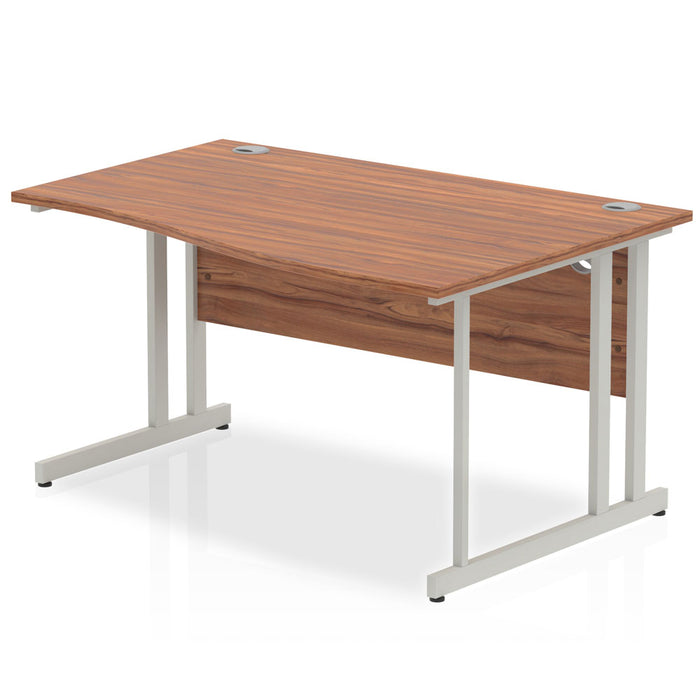 Executive Impulse Cantilever 1400 Right Hand Wave Desk