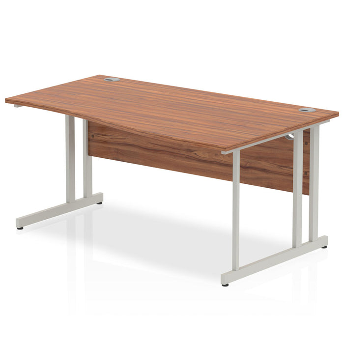 Executive Impulse Cantilever 1600 Right Hand Wave Desk
