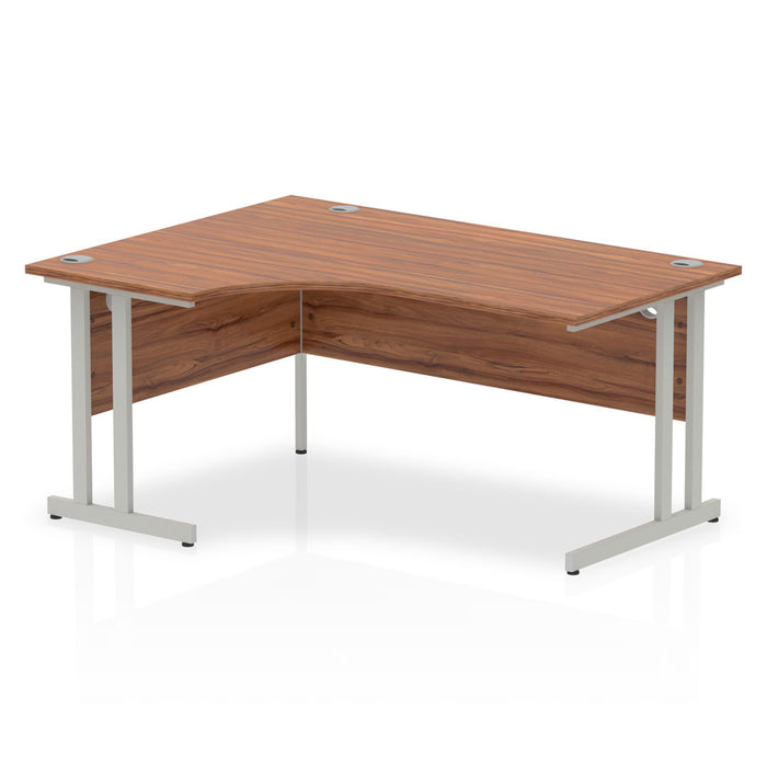 Impulse Cantilever 1600 Left Hand Crescent Desk