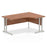 Executive Impulse Cantilever 1600 Right Hand Crescent Desk