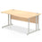 Impulse Cantilever 1600 Right Hand Wave Desk