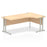 Impulse Cantilever 1800 Right Hand Crescent Desk