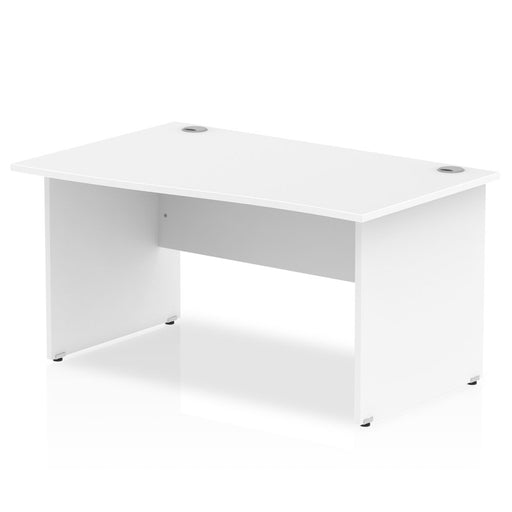 Impulse Panel End 1400 Left Hand Wave Desk