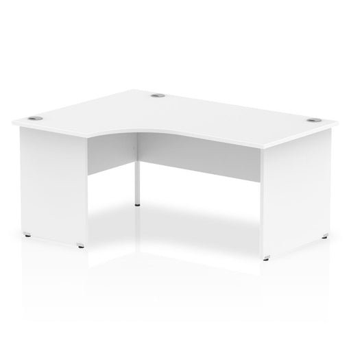 Executive Impulse Panel End 1600 Left Hand Crescent Desk