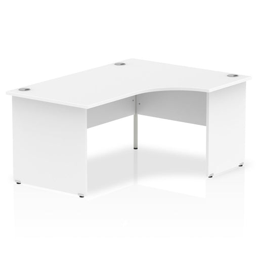 Executive Impulse Panel End 1600 Right Hand Crescent Desk