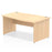 Impulse Panel End 1600 Right Hand Wave Desk