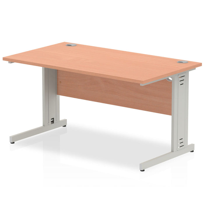 Impulse Cable Managed 1400 Rectangle Desk