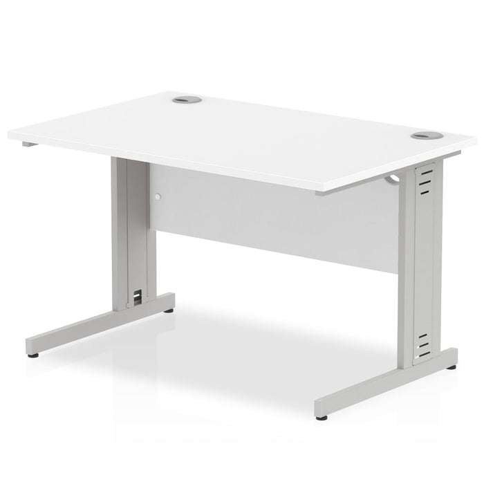 Executive Impulse Cable Managed 1200 Rectangle Desk