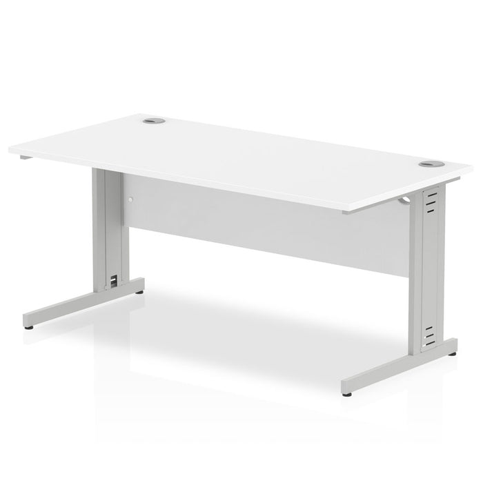 Impulse Cable Managed 1600 Rectangle Desk