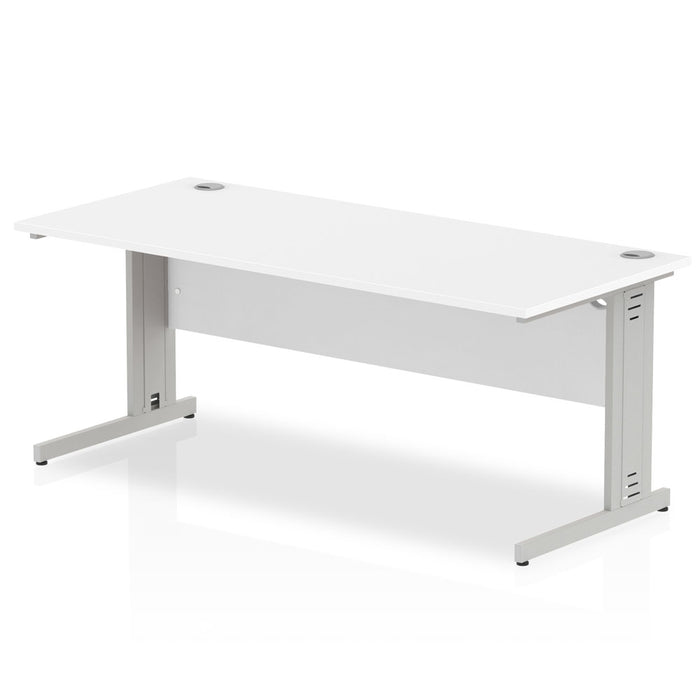 Executive Impulse Cable Managed 1800 Rectangle Desk