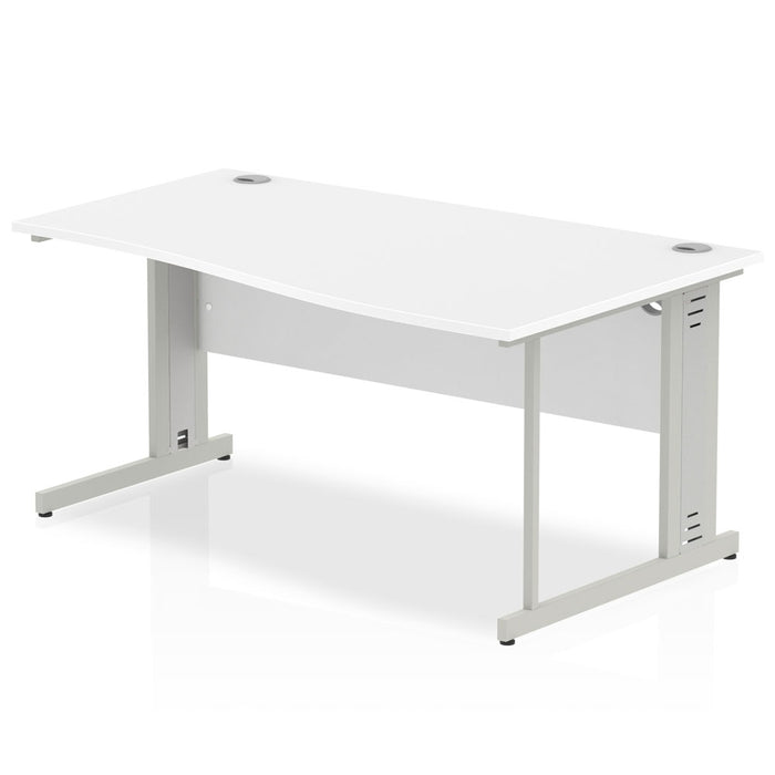 Executive Impulse Cable Managed 1600 Right Hand Wave Desk
