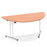 Impulse 1600 Folding Semicircle Table Beech