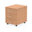 Impulse Mobile Pedestal 3 Drawer - 430w x 500d x 510h (mm)