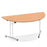Impulse 1600 Folding Semicircle Table