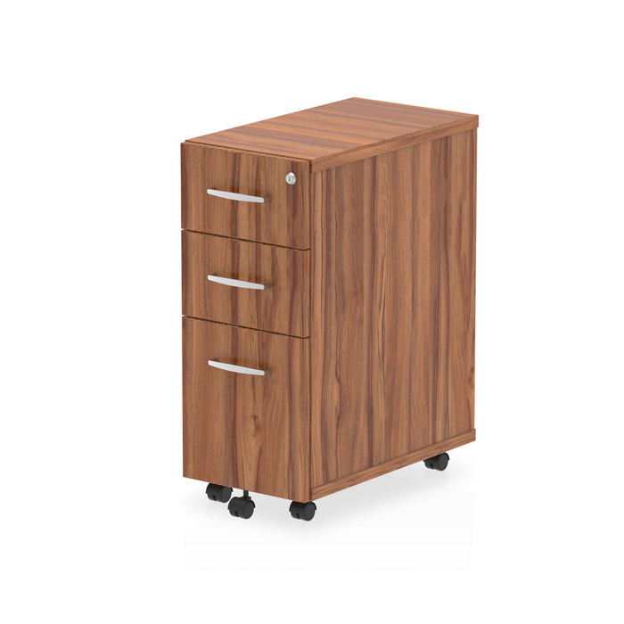 Impulse Narrow Under Desk Pedestal 3 Drawer - 300w x 550d x 695h (mm)