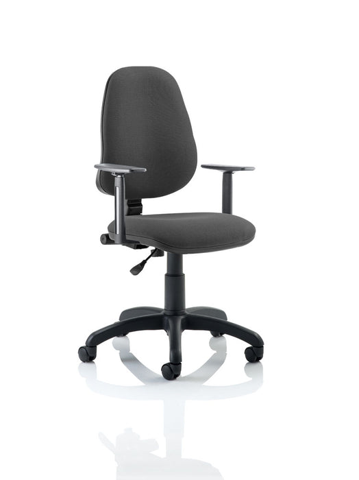 Eclipse I Lever Task Operator Chair With Height Adjustable Arms