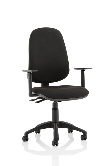 Eclipse XL Lever Task Operator Chair With Height Adjustable Arms