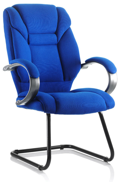 Galloway Cantilever Chair Fabric With Arms
