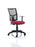 Eclipse II Lever Task Operator Chair Mesh Back With Height Adjustable Arms
