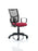 Eclipse II Lever Task Operator Chair Mesh Back With loop Arms