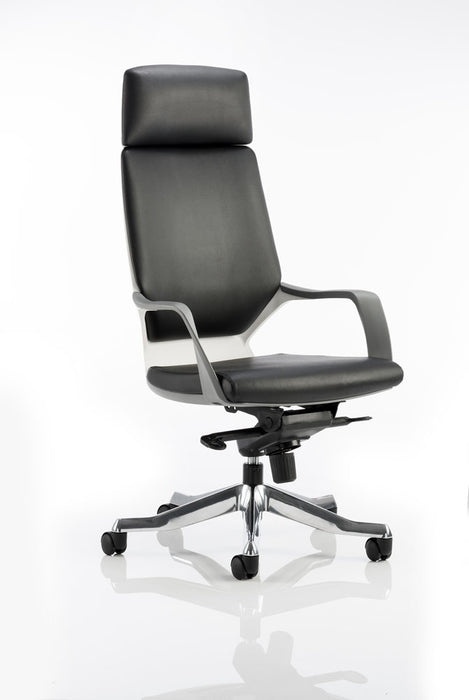 Xenon Executive High Back Leather With Headrest