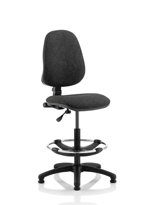 Eclipse I Lever Task Operator Chair With Hi Rise Draughtsman Kit