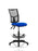 Eclipse II Lever Task Operator Chair Mesh Back With Hi Rise Draughtsman Kit