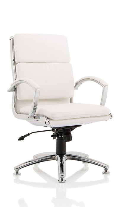 Classic Executive Chair Medium Back With Arms With Chrome Glides