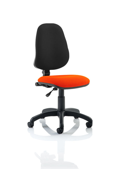 Eclipse I Lever Task Operator Chair Bespoke Colour Seat