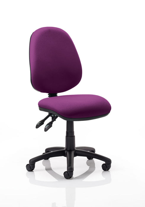 Luna II Lever Task Operator Chair Bespoke Colour Deluxe