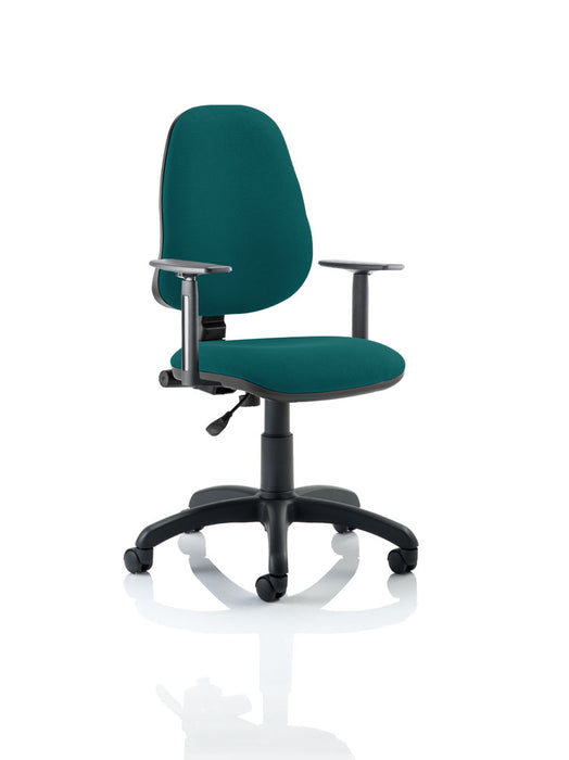 Eclipse I Lever Task Operator Chair Bespoke With Height Adjustable Arms